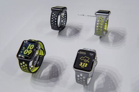 The new Apple Watch 2. Photographer: David Paul Morris/Bloomberg