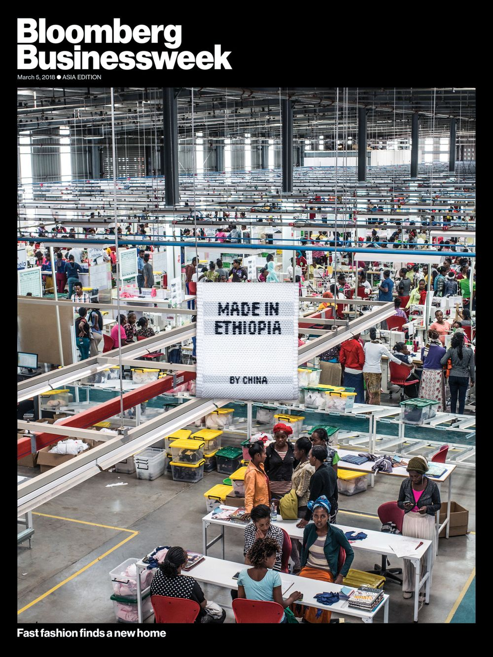China Is Turning Ethiopia Into a Giant Fast-Fashion Factory - Bloomberg