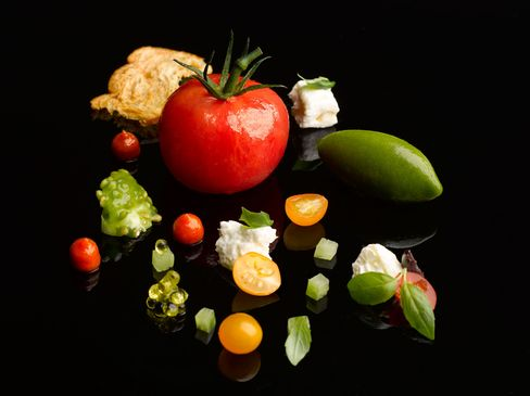 "Heirloom Tomato ""Burrata Artigiana"""