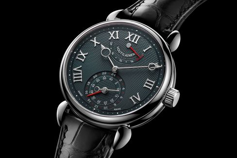 You'd be hard-pressed to find a watch with higher-quality hand finishing than the GMR from Voutilainen.