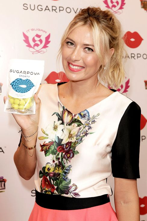 Maria Sharapova Finds Sweet Investment as Candy Brand Takes Off