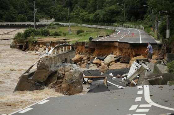 Flooding in Western Japan Leaves 11 Dead