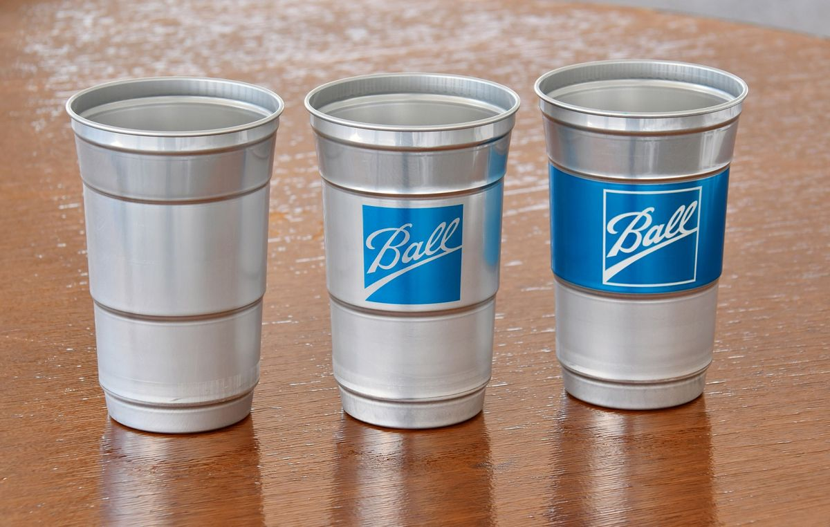 Beer Pong Getting Sustainability Makeover with New Aluminum Cup