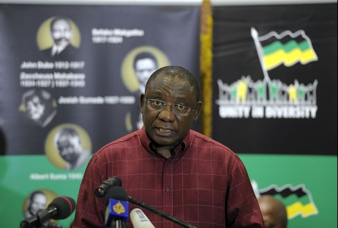 Former Labor Union Leader Turned Tycoon Cyril Ramaphosa