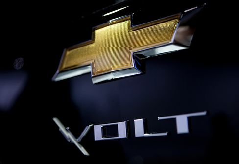 GM CEO Said to Target Up to 20% Growth for Volt Cars This Year