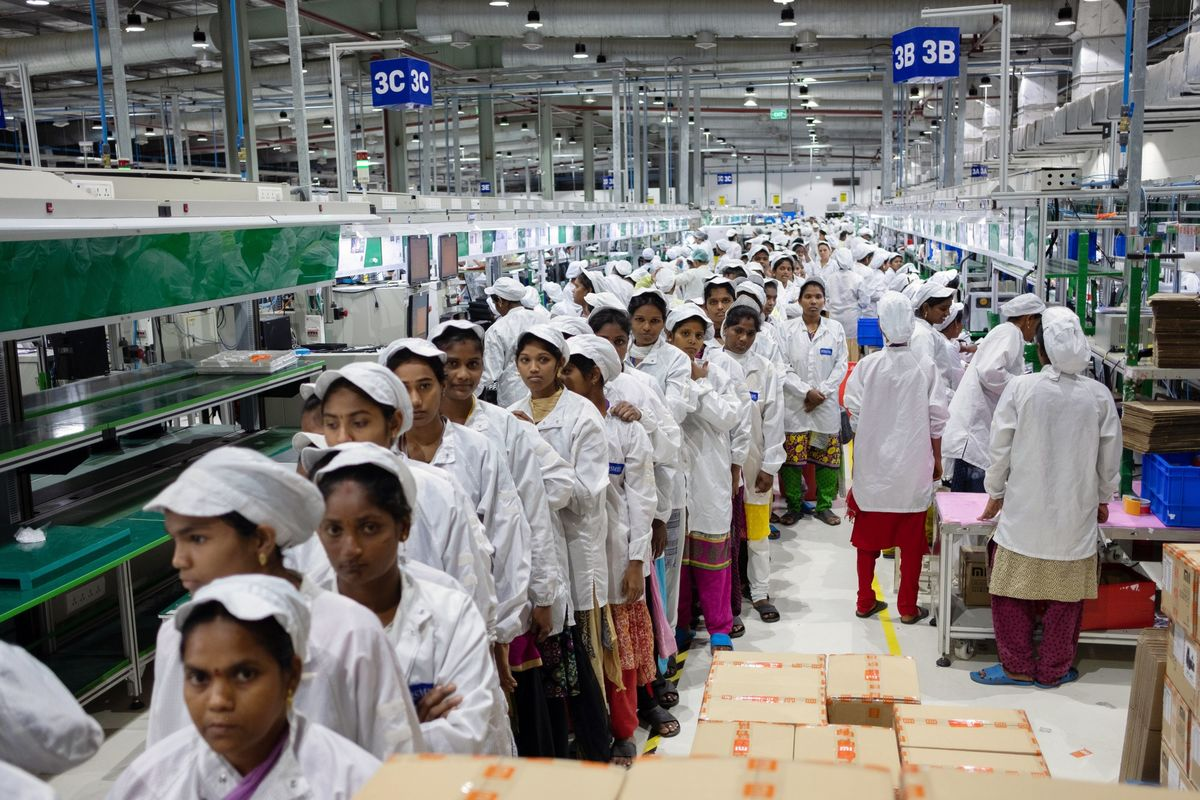 Techmeme: Inside Foxconn's manufacturing facilities in India