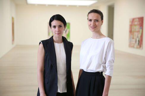 Nur Elektra El Shami and Irina Turcan, art:i:curate Co-Founders.