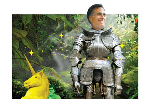Mitt Romney and the Fantasy Budget