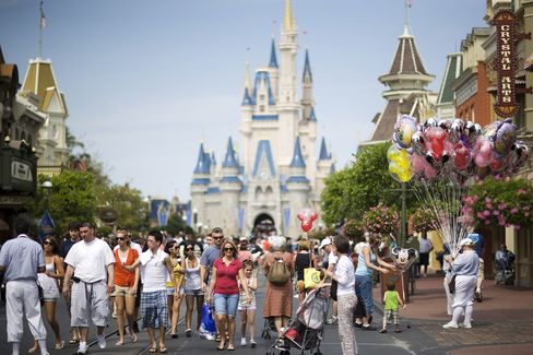 Walt Disney World Magic Kingdom in Orlando