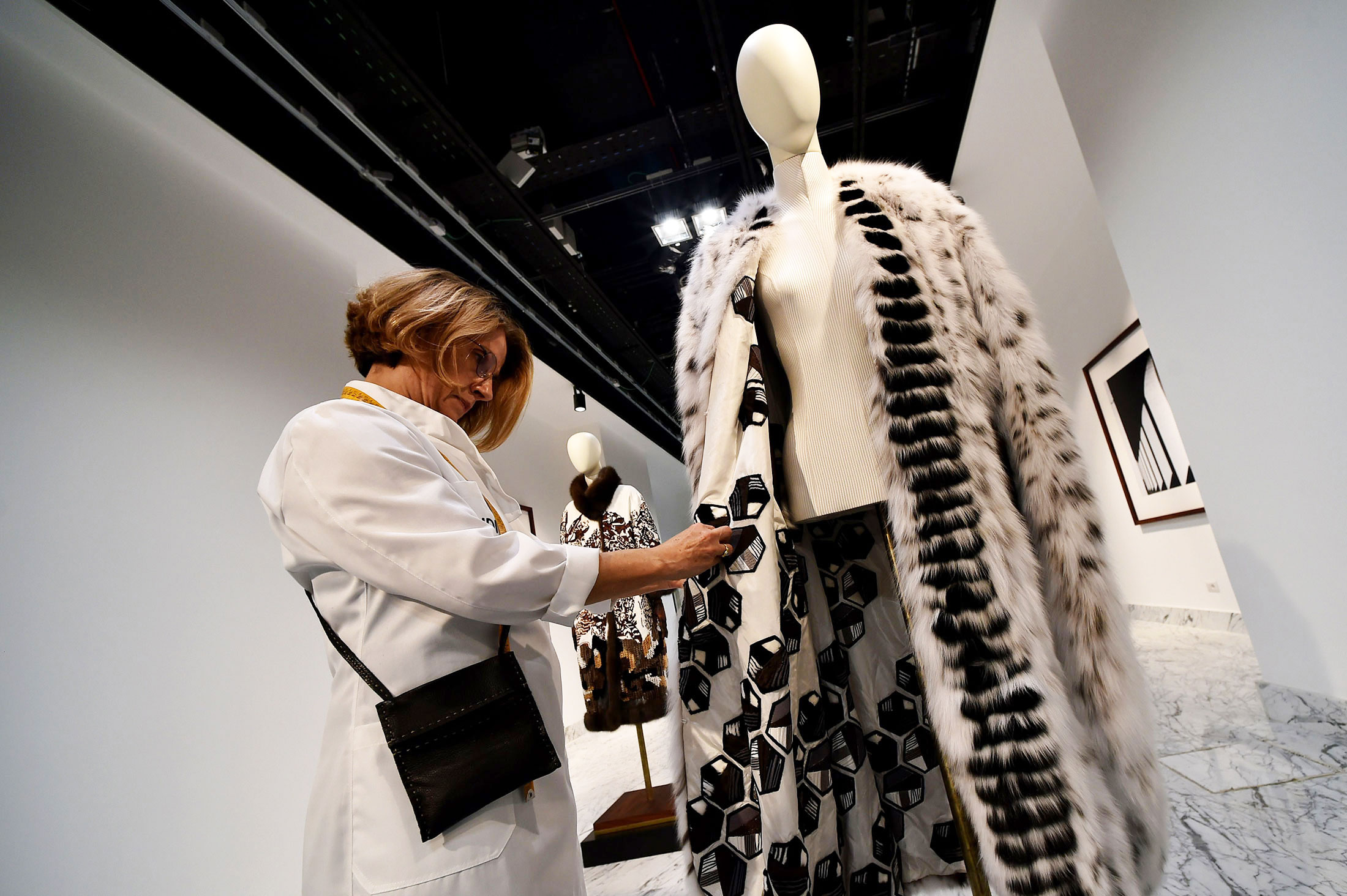 Furs on Display