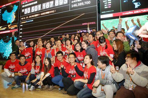Alibaba Breaks Sales Record