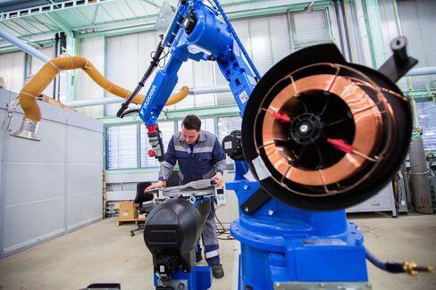 安川電機のロボット