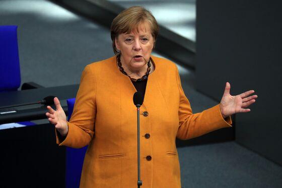 Merkel Warns Lenient Regions She May Take Control of Covid Fight