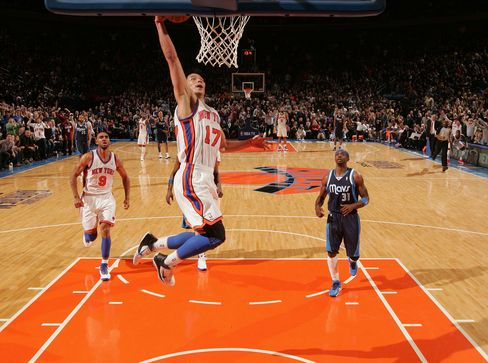 Lin Scores 28 Points, Knicks Halt Mavericks' Winning Streak