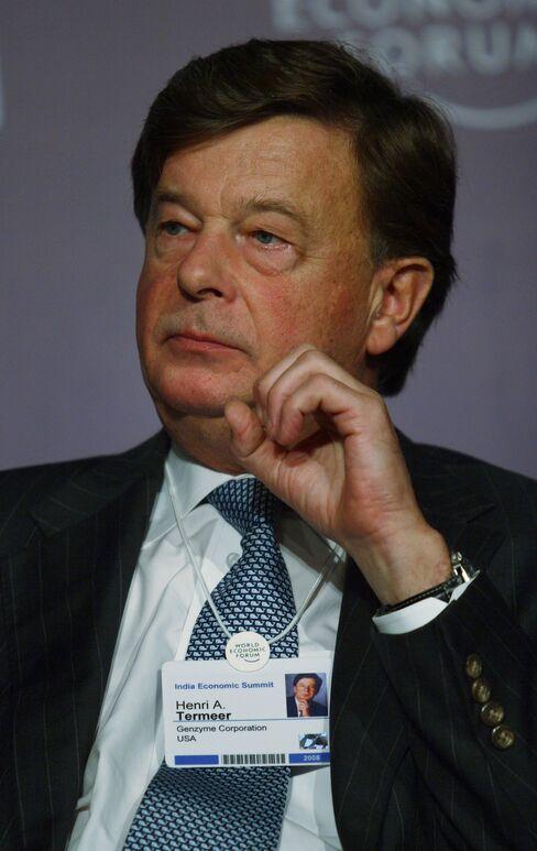 Genzyme Corp. CEO Henri Termeer