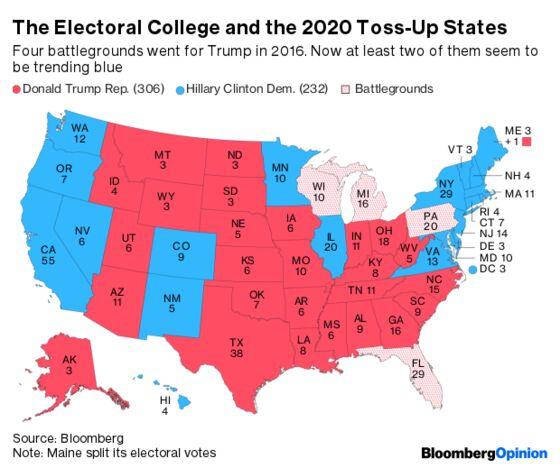 Democrats Have a Teeny, Tiny Edgefor 2020