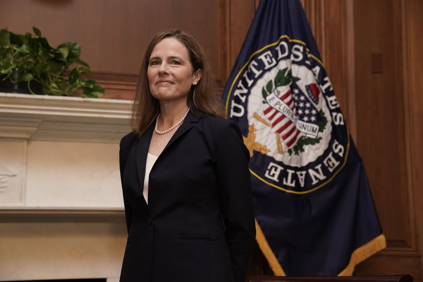 BLOOMBERG – Republicans Poised to Move Amy Coney Barrett Onto Supreme Court in Days