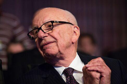 Billionaire Rupert Murdoch