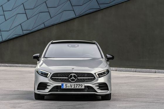 Mercedes Brings the A Class Sedan to U.S. to Take on Smallest From Audi, BMW, Volvo