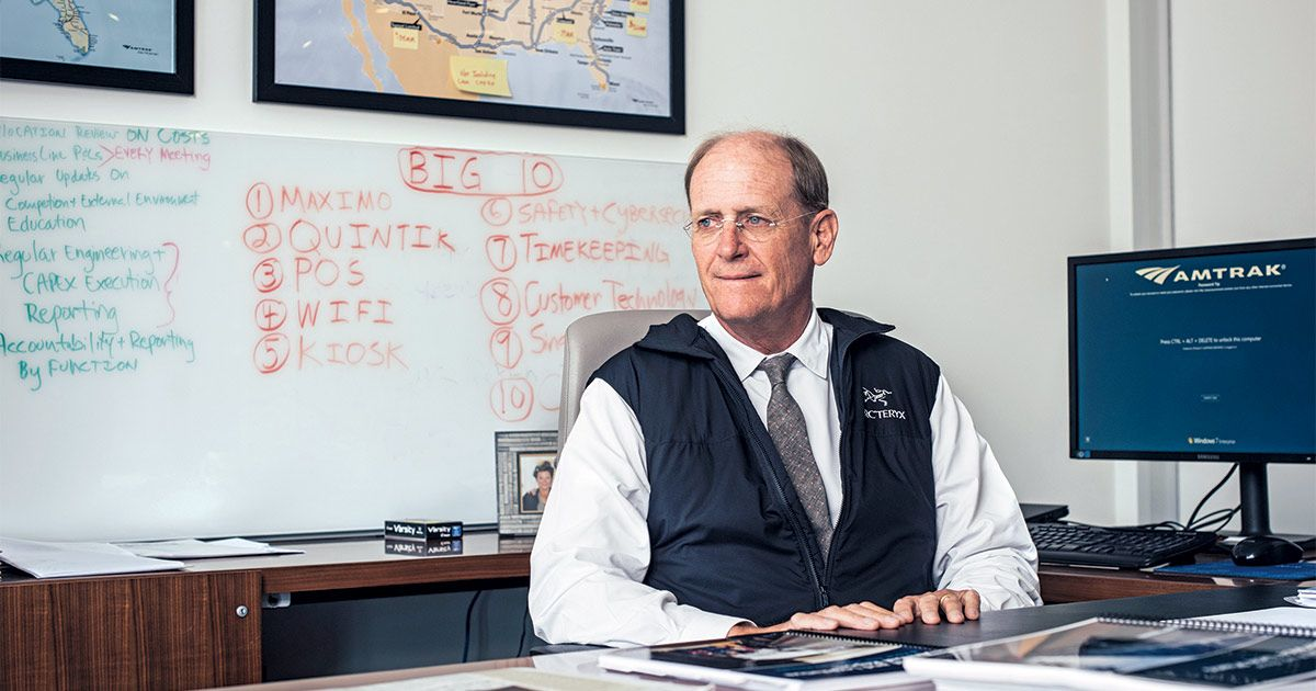 Amtrak CEO Has a Plan for Profitability, and You Won't Like It