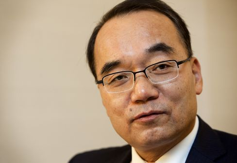 South Korea's Finance Minister Bahk Jae Wan