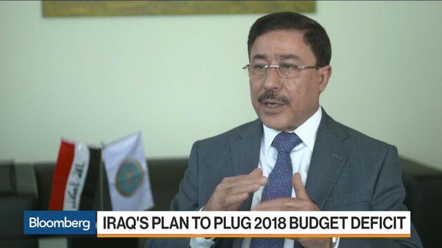Iraq Plans $2 Billion Eurobond Sale to Plug 2018 Budget Deficit