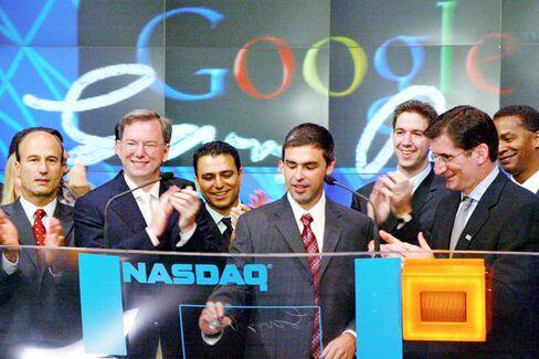 Google at $400 Billion: A New No. 2 in Market Cap