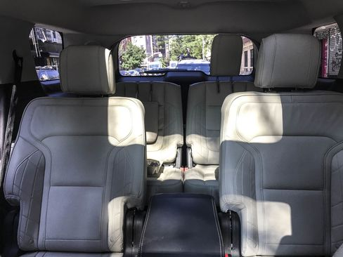 The 2017 Ford Explorer Platinum edition comes with seating for six.