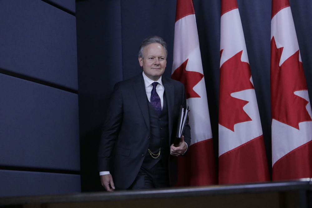 Poloz Says a Second Term as Bank of Canada's Governor Is Option