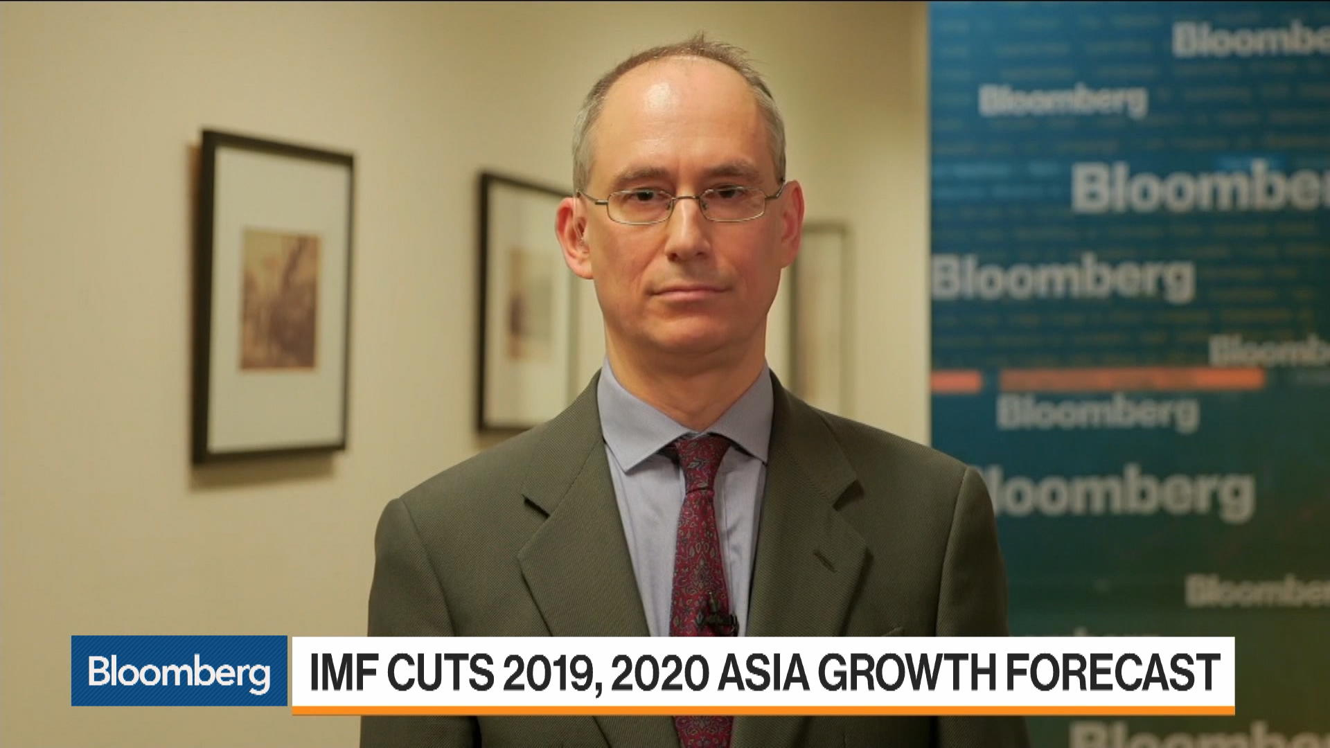 IMF Deputy Director of the Asia Pacific Department Jonathan Ostry on Asia Growth