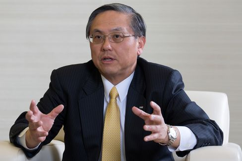 Japanese Bankers Association Chairman Takeshi Kunibe