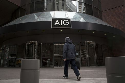 AIG Warrants Jump to Highest Since First Month