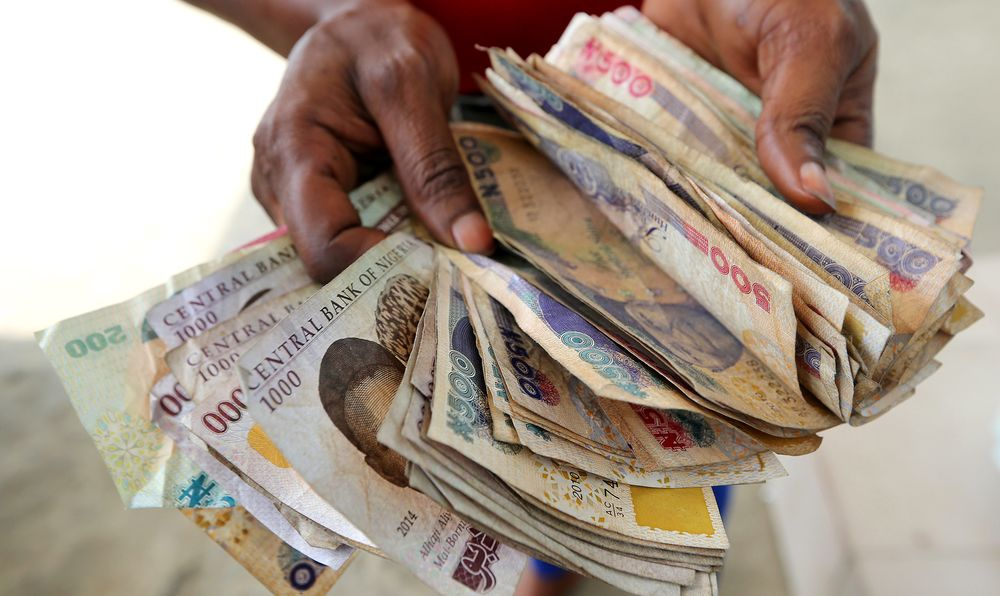 Stress Sign Black Market S Er Than Official Naira Rate