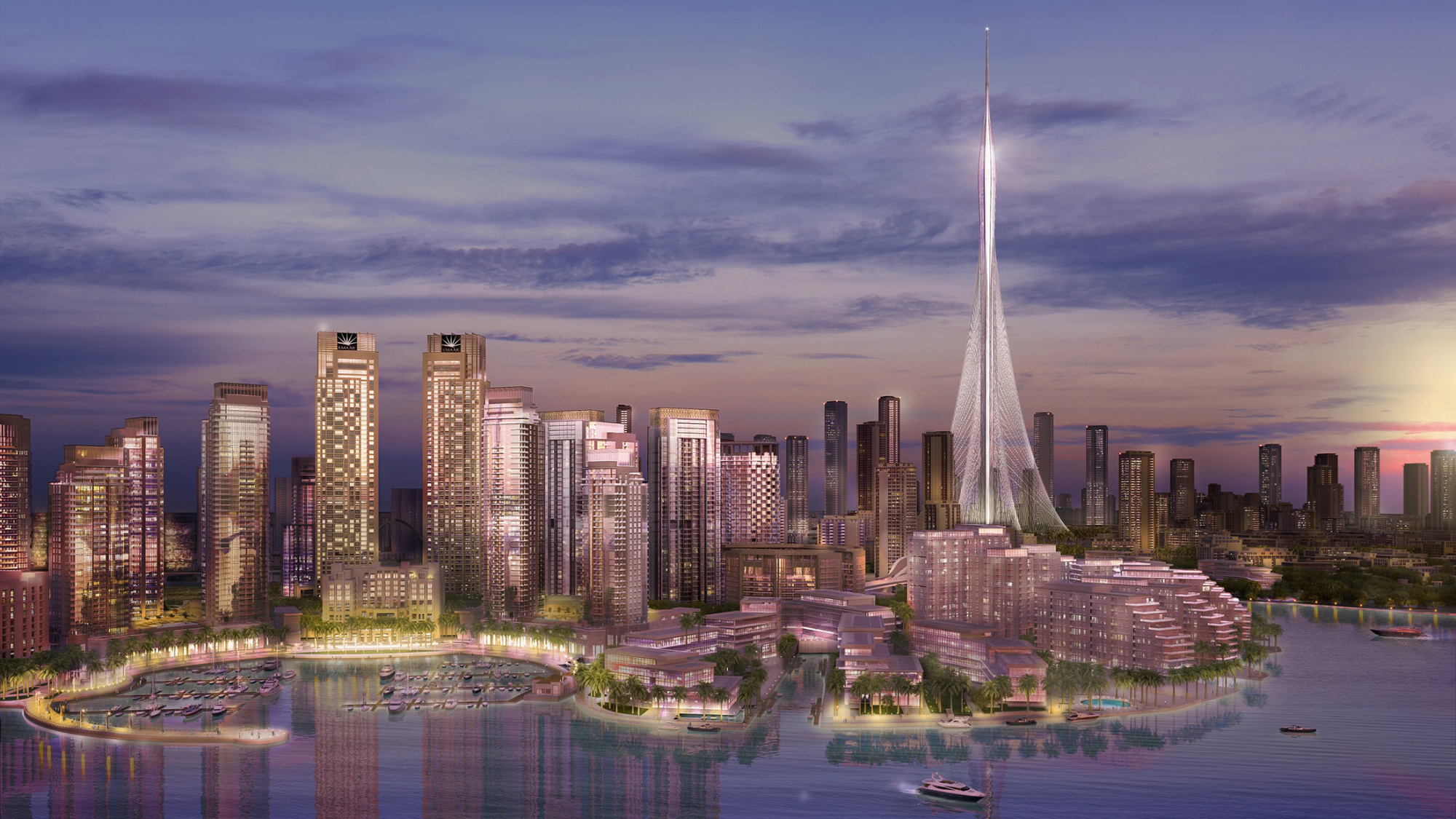 dubai kicks off construction of worlds tallest buildingagain bloomberg - Future Tallest Building In The World Under Construction