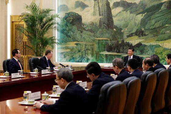 Trump Says China Trade Talks 'Very Productive' as Team Returns