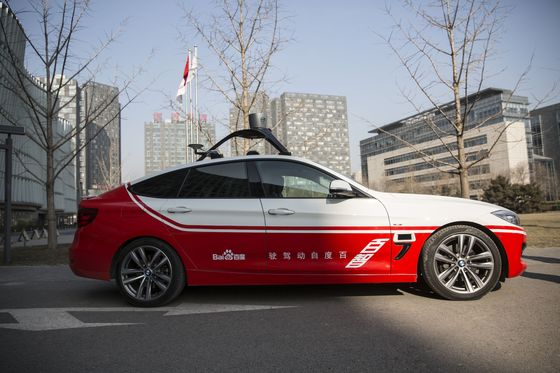 To Find China's Best Driverless Technology, Look in Silicon Valley
