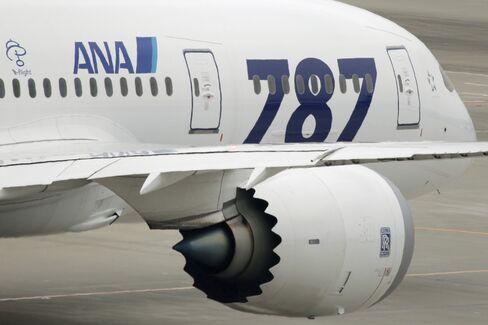 Boeing Dreamliner GE Engine Probed After Jet Spews Debris