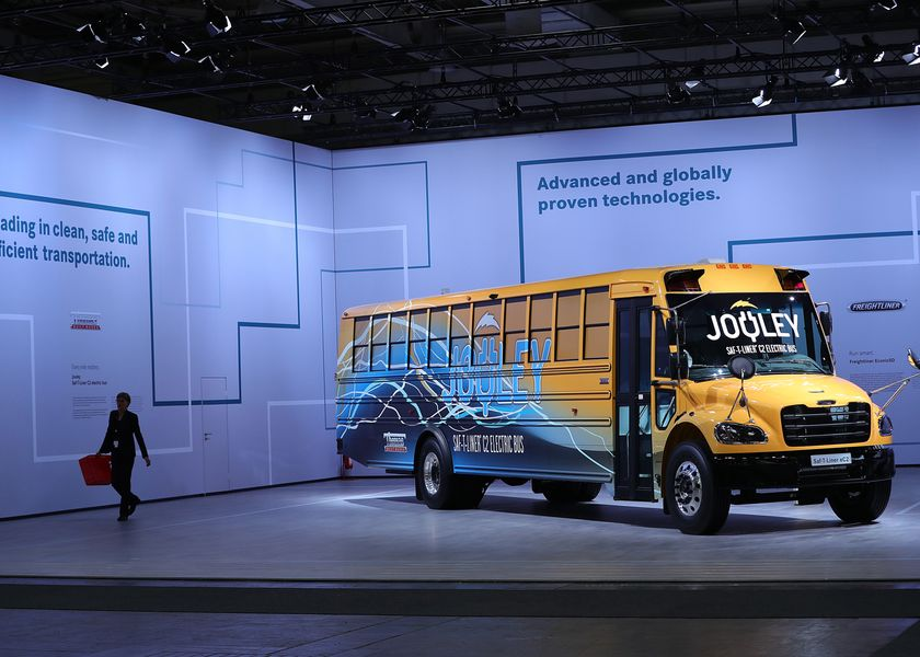 Truckmakers At IAA Commercial Vehicles Show