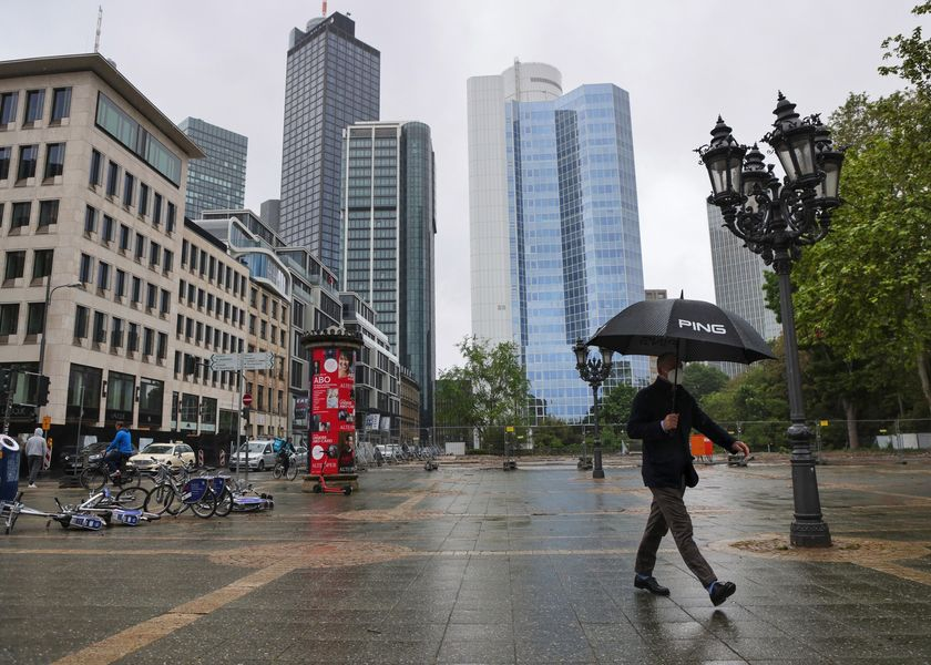 Germany's Financial Capital Prepares For City Workers Return to Office