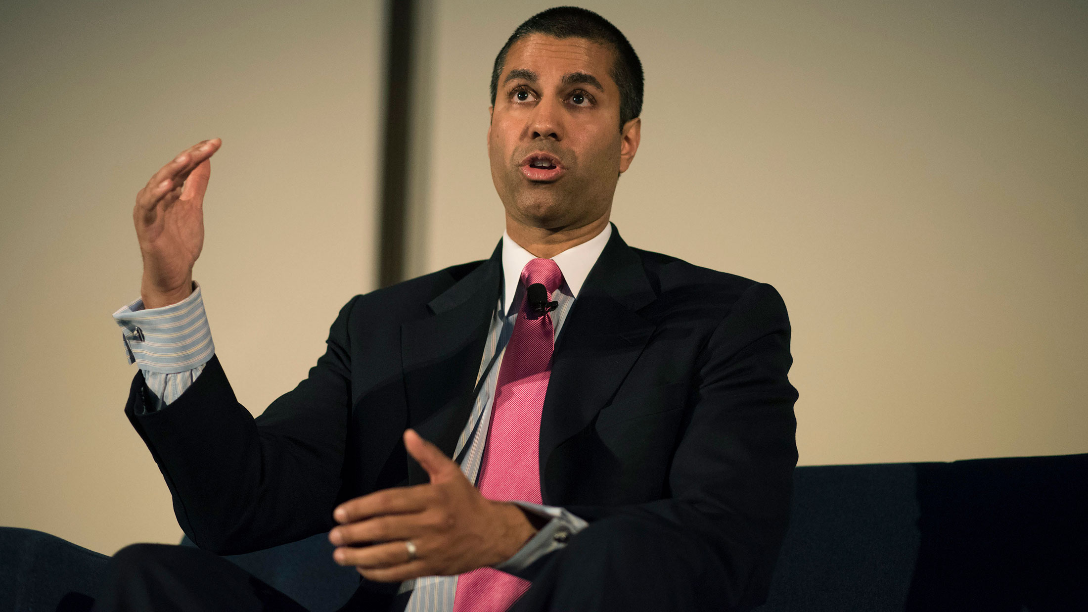 Trump Taps Net-Neutrality Foe Ajit Pai to Lead FCC, Source Says