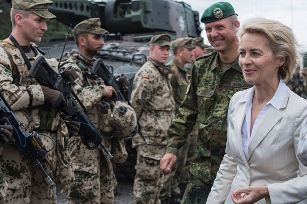 Why Europe Puts Women in Top Defense Roles