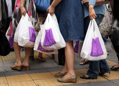 Japan's Retail Sales Rose a More-Than-Forecast 3.6% in May