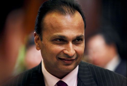 Reliance Power Ltd. Chairman Anil Ambani