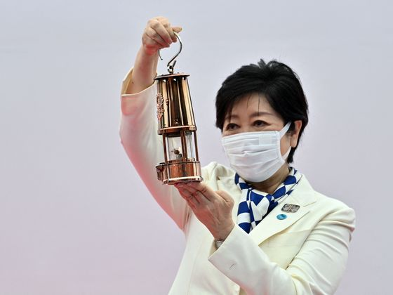 Tokyo Governor Wants Olympics to Light Way for Pandemic Recovery