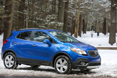 The Buick Encore was one of the first so-called cute-utes, tiny utility vehicles that have proved hugely popular.