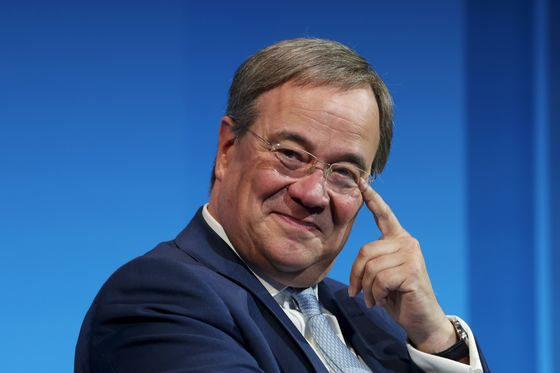 Merkel's Would-Be Heir Softens Tone on Future EU Fiscal Policy