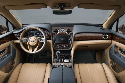 The Bentayga offers eight drive modes.