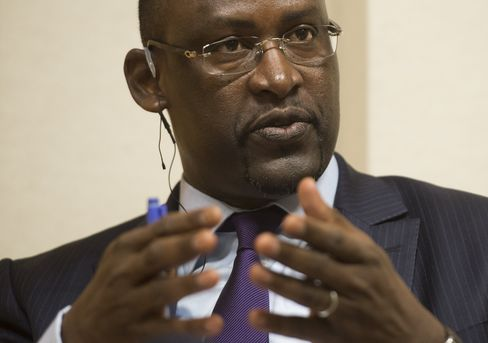 Mali's foreign minister Abdoulaye Diop
