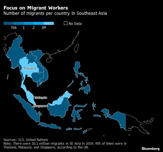Migrant Workers, Porous Borders Mar Southeast Asia Recovery