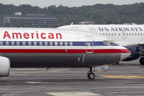 American Pilots Studying Labor Deal With US Airways Peers